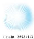 輪 背景 水のイラスト 26581413