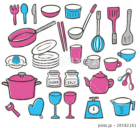 キッチン雑貨(pink/blue) 26582161