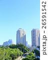 マンションと新緑 【東京・お台場】 26591542