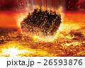 宇宙船 落下 巨大宇宙船の写真 26593876