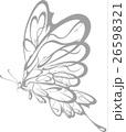 蝶 トライバル 26598321