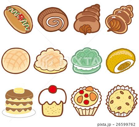 菓子パン01 26599762