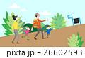 登り ファミリー 家庭のイラスト 26602593
