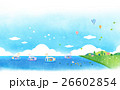 鳩 景色 人物 26602854