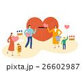 ファミリー 家庭 家族のイラスト 26602987