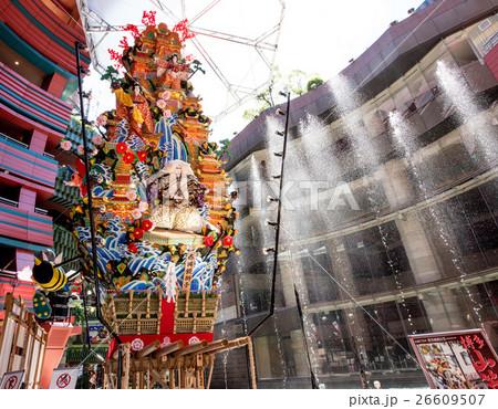 九州への旅、博多祇園山笠(飾り山)が、ユネスコ無形文化遺産登録決定となり、以下ご紹介いたします。 26609507