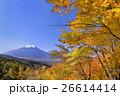 山梨_二十曲峠より望む富士山 26614414