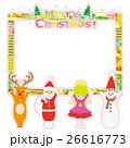 クリスマスフレーム 26616773