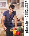 クッキング 料理 調理の写真 26621337