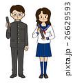 学生③男女_卒業ⓑ 26629593