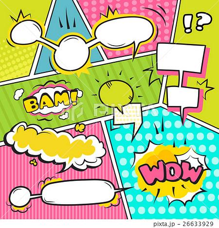 Speech Bubble Banners Set のイラスト素材 [26633929] - PIXTA