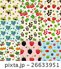 Set Of Nine Seamless Berries Patterns 26633951