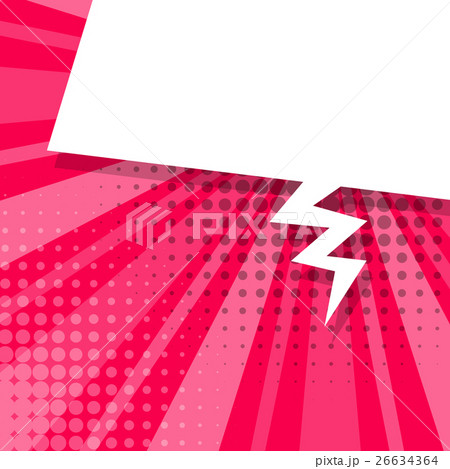 Comic pink background sketch explosion 26634364