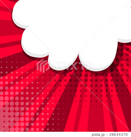 Comic background red sketch explosion 26634370