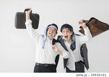 酔っ払いのビジネスマン 上司部下の写真素材 [26636191] - PIXTA