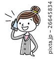 ベクター 電話 スマートフォンのイラスト 26645834