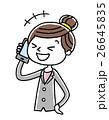 ベクター 電話 スマートフォンのイラスト 26645835