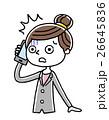 ベクター 電話 スマートフォンのイラスト 26645836