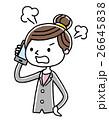 ベクター 電話 スマートフォンのイラスト 26645838