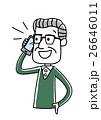 ベクター 電話 スマートフォンのイラスト 26646011
