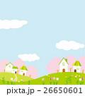 春 街 桜のイラスト 26650601