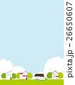 街並み 住宅街 春のイラスト 26650607
