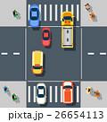 トラフィック 交通 通行のイラスト 26654113