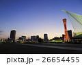 神戸・メリケンパークの夜景 26654455
