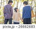 人物 3人 家族の写真 26662683