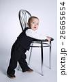 少年 椅子 チェアの写真 26665654