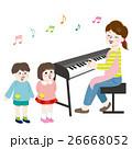 保母さん ベクター 音楽のイラスト 26668052