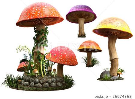 Mushrooms  26674368