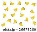 バナナ柄 26676269