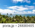 ニューカレドニアの空と海と緑 26680405