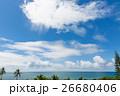 ニューカレドニアの空と海と緑 26680406