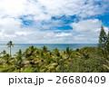 ニューカレドニアの空と海と緑 26680409