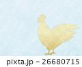 酉年 年賀状 年賀状素材のイラスト 26680715
