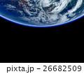 地球 惑星 宇宙のイラスト 26682509