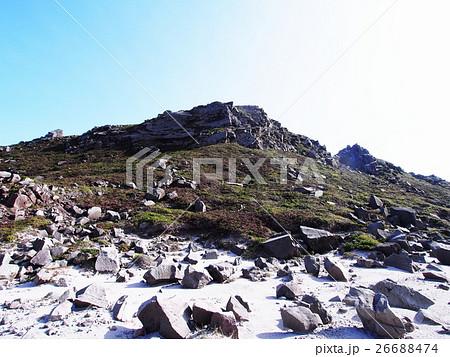 天上山 裏砂漠の岩場(神津島) 26688474