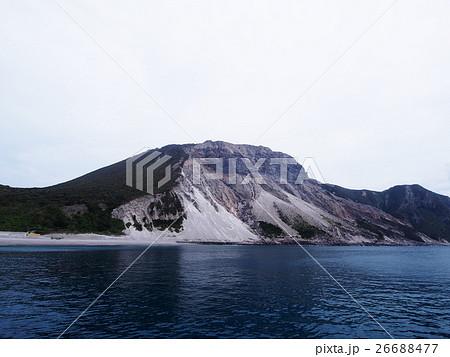 多幸湾から見た天上山(神津島) 26688477