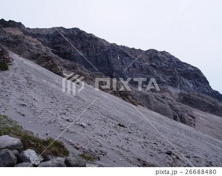 天上山の崩壊地帯(神津島) 26688480