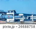 工事中の高速道路 環状線 青空 26688758