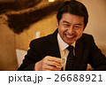 お酒を飲むビジネスマン 26688921