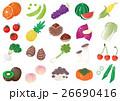 野菜と果物 オレンジ他 ハイライトあり 26690416
