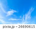 空 青空 雲の写真 26690615