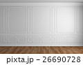壁 クラシック 古典のイラスト 26690728