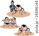 相撲 取組セット 26696148