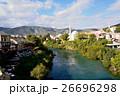 モスタル 川 旧市街の写真 26696298