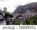 モスタル ネレトヴァ川 旧市街の写真 26696301