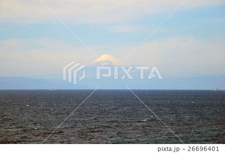 大島からの富士 26696401